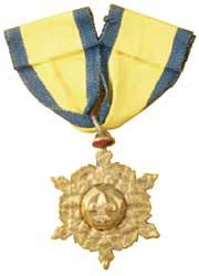 中國童子軍紀念章