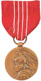 美國自由勳章