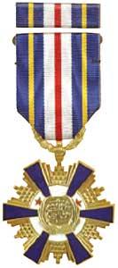 懋績甲種二等獎章