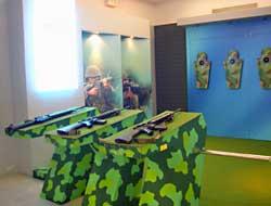 第五陳展室展場實景-射擊體驗區