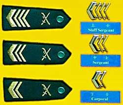 陸軍士官軍銜
