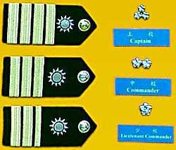 海軍校級軍官軍銜