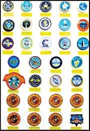 海軍隊徽臂章展示