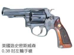 美國造史密斯威森0.38吋左輪手槍