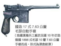 國造17式7.63公釐毛瑟自動手槍