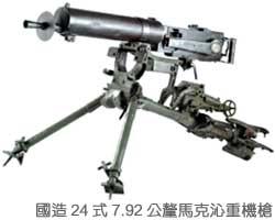 國造24式7.92公釐馬克沁重機槍