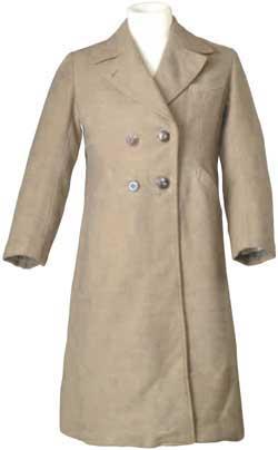 抗戰時期裝甲兵軍官大衣