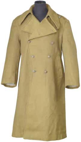 抗戰時期軍校學生防寒大衣