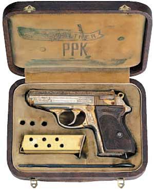 德國造華瑟PPK 7.65公釐自動手槍