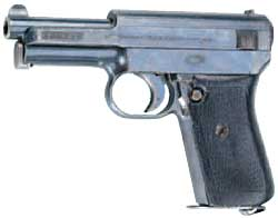 德國造毛瑟7.65公釐手槍