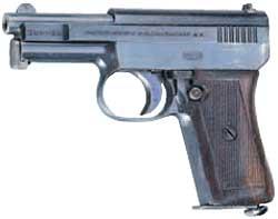 德國造毛瑟6.35公釐手槍