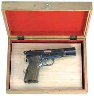 比利時造9公釐白朗寧手槍