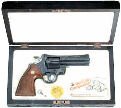 美國造柯特0.375吋麥格儂右輪手槍