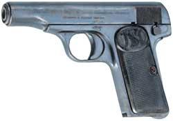 比利時造FN 7.65公釐白朗寧手槍