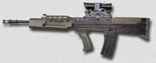 英國L-85A1突擊步槍